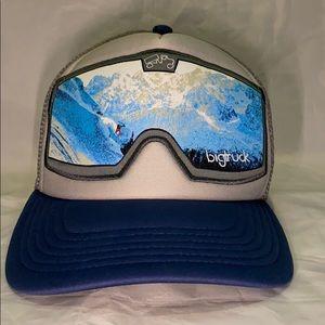 Big Truck Blue Grey KT22 Goggle Original Hat 58cm